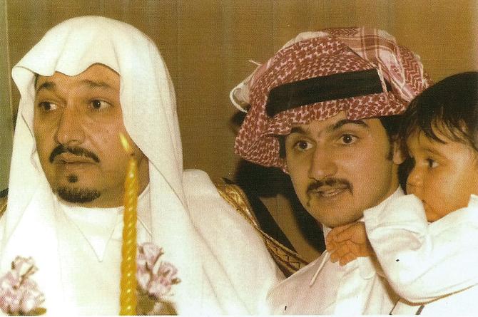 21 AVRIL 1982. 4è ANNIVERSAIRE DU PRINCE KHALED. 3 GENERATIONS DE PRINCES
