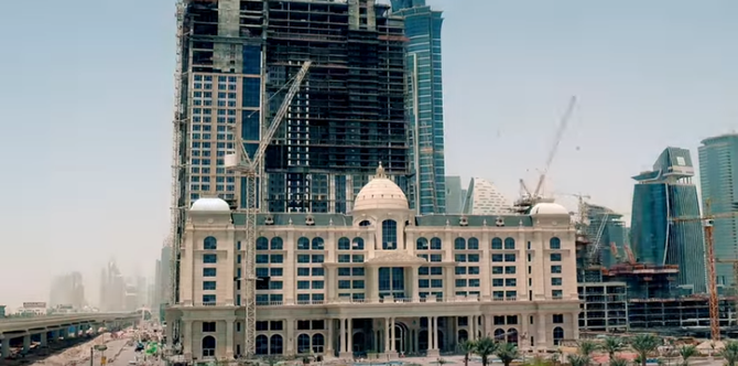 2012 - 2016. AL HABTOOR CITY EN CONSTRUCTION . AU 1er PLAN LE ST REGIS