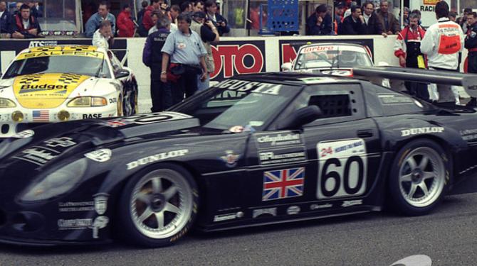 14 JUIN 1997. CALLAWAY CORVETTE LM GT, MOTEUR CHEVROLET V8 5999cc. AVEC AGUSTA, COPPELLI, GRAHAM. La précourse du Samedi. PHOTO PATRICK MARTINOLI AVEC NOS REMERCIEMENTS.