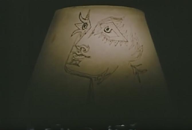 UNE LAMPE DANS LA CHAMBRE dite INITIATION DES BACCHANTES