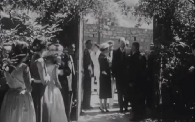 8 JUILLET 1954. INAUGURATION de L'ATELIER DE CEZANNE