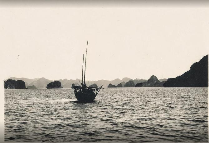 HONGAY.  CÔTE MER . Circa 1938
