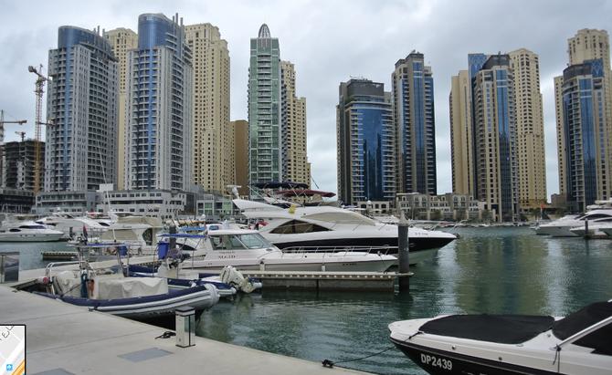 DUBAI MARINA 2012