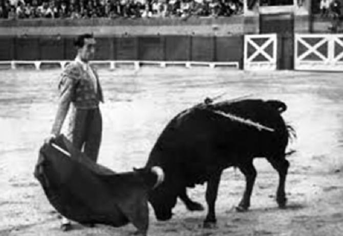 LINARES 29 AOÛT 1947. MANOLETE et ISLERO DE MIURA.