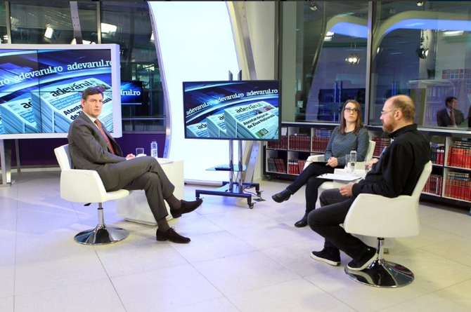 2 DECEMBRE 2015.  INTERVIEW ADEVARULFINANCIAR . C* @CostinBorc