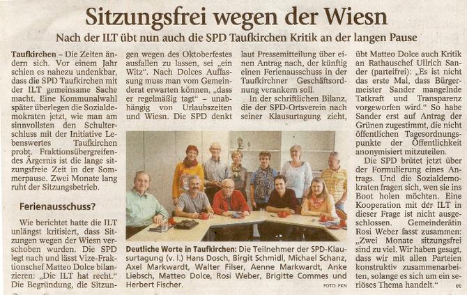 Artikel aus dem Münchner Merkur vom 19.09.2014