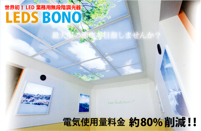 LEDS BONO  電気使用料金大幅カット 80%削減 駐車場 LED 調光対応球 無電極ランプ 照明