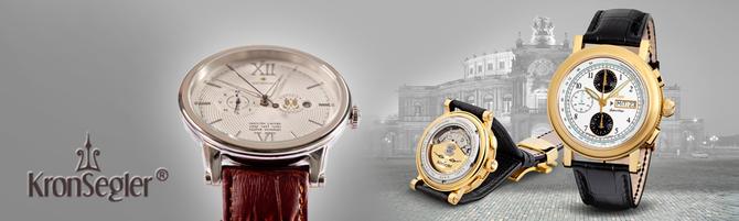 kronsegler glashütte uhr watch germany ks