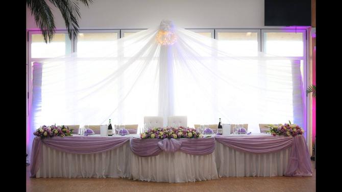 Hochzeitstafel im MAGNA RACINO
