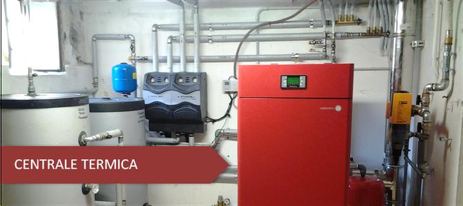 Centrale termica casa climafloor - Certificazione impianto gas ...