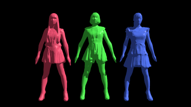 Perfume image by MPBS(out of core version) Hard shadow & None super-sampling