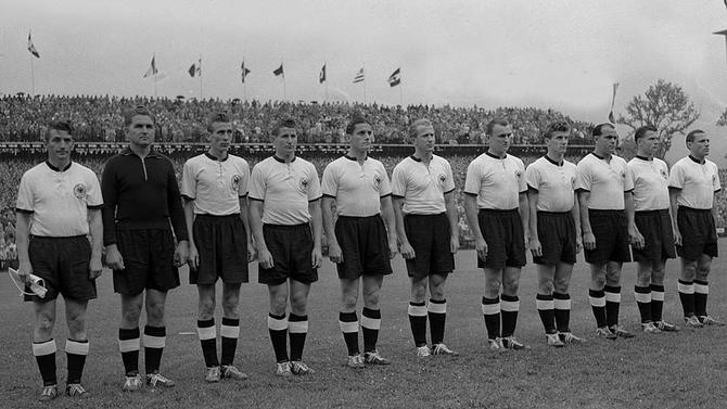 Sélection de RFA pour la Coupe du Monde FIFA 1954 : Championne du Monde
