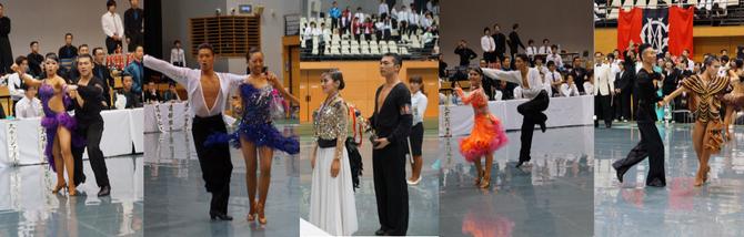 *写真第58回東部日本学生競技ダンス選手権大会Ⅱ部戦 より