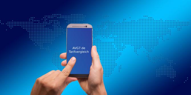 AVG7.de Handyvertrag Tarifvergleich