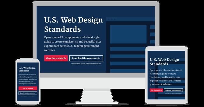 Die neuen Webstandards der US-Bundesregierung funktionieren auf allen Plattformen.