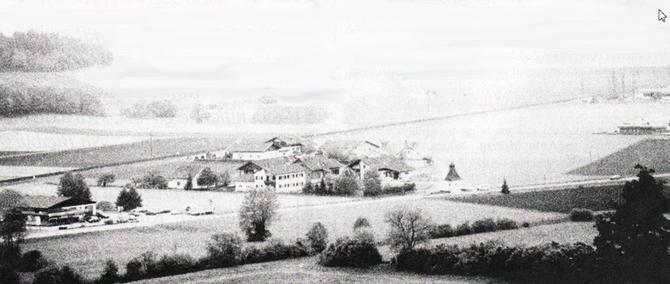 Bleiburško polje početkom 50-ih godina
