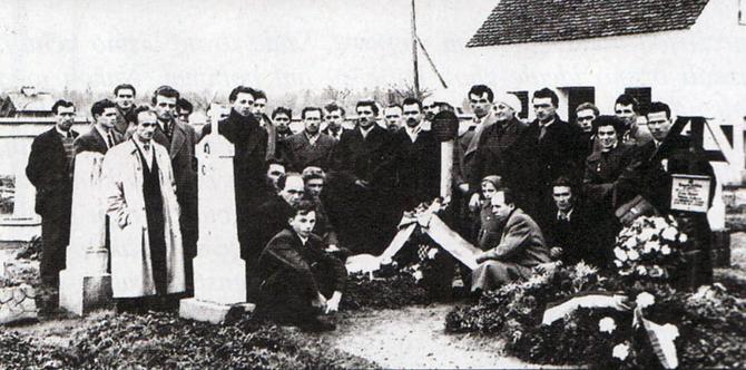 Bleiburg - komemoracija na groblju za Svi svete 1952. godine