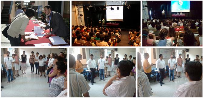 Album photo des Journées CLE Formation à Lima - 2012