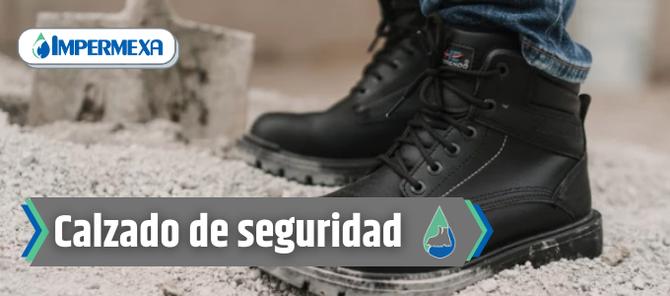 Portada calzado de seguridad industrial