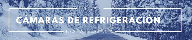 Venta de equipo y ropa para cámaras de refrigeración