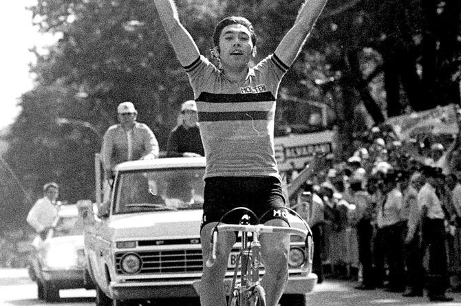 Le Belge Eddy MERCKX a remporté le Tour de France à cinq reprises.