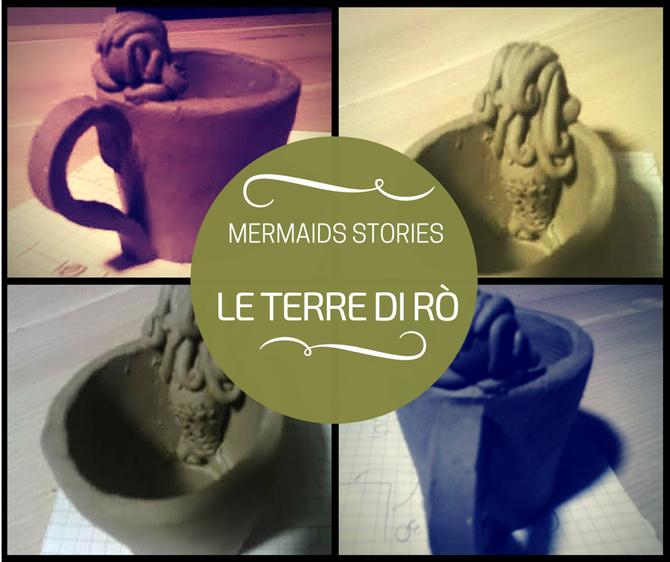 Tazzina Sirena in ceramica €4,00 Le Terre di Rò