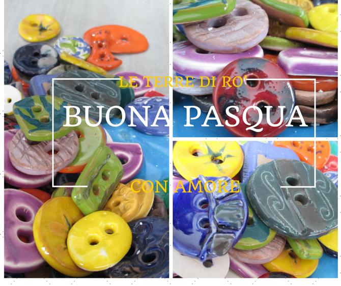 Bottoni in ceramica. Le Terre di Rò