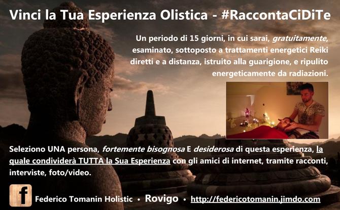 """Locandina """"Vinci la Tua Esperienza Olistica a Rovigo"""""""