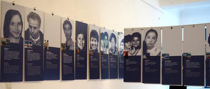 Vom Förderverein Liberale Synagoge initiiert: Die Ausstellung Opfer Rechtsextremismus im Liebighaus