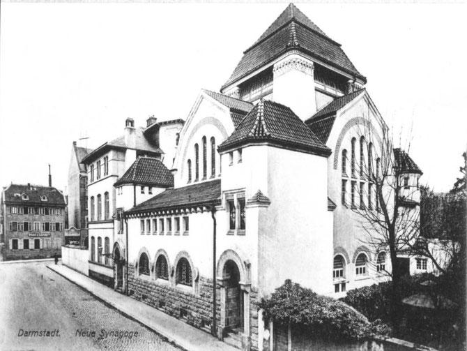 Orthodoxe Wickopsche Jugendstilsynagoge Bleichstr. (1906-1938) Foto: Stadtarchiv