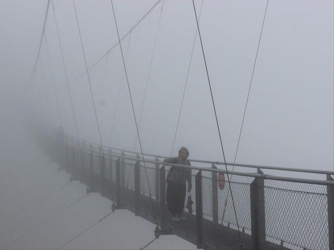 Nebelhängebrücke