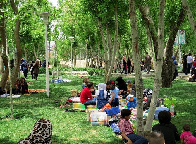 Freizeitvergnügen der Iraner
