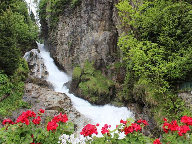 Herrlich Wasserfall Bad Gastein