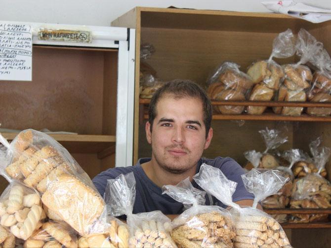 Junger Bäckermeister