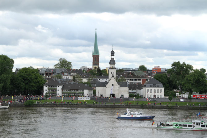alte Pfarrkirche St. Clemens Köln-Mülheim