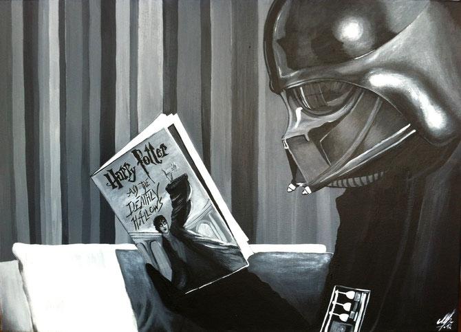 """""""Break"""", 2012, acrylic on canvas, 50x70"""