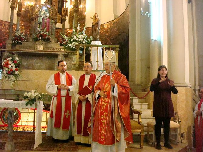 INAUGURACIÓN DE LA NUEVA PARROQUIA DE  SANTA MARÍA DEL SILENCIO, 30 de noviembre de 2012