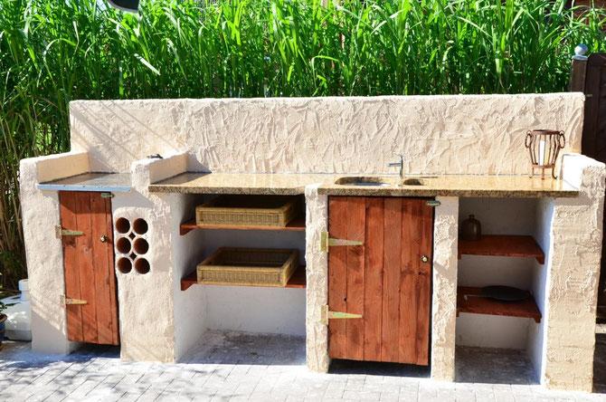 Outdoor-Küchenbau 1. Teil - Hühnerstallbau, Outdoor-Küchenbau ...