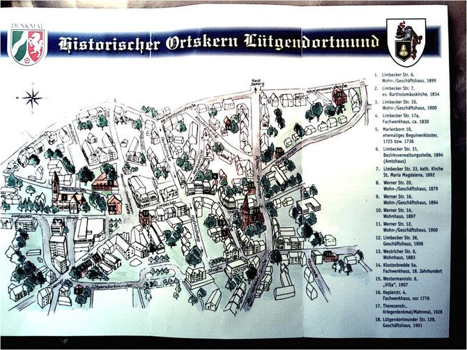Im Rahmen eines Historischen Marktes wurde dieser Rundgang von Herrn Mohrenstecher  in vorbildlicher  Weise vorgestellt.