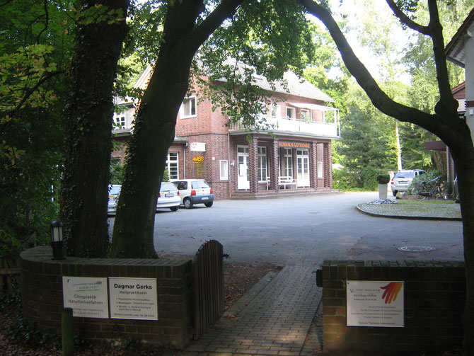 Naturheilpraxis Dagmar Gerks im Kurhaus Güthenke, im Stadtpark Gütersloh