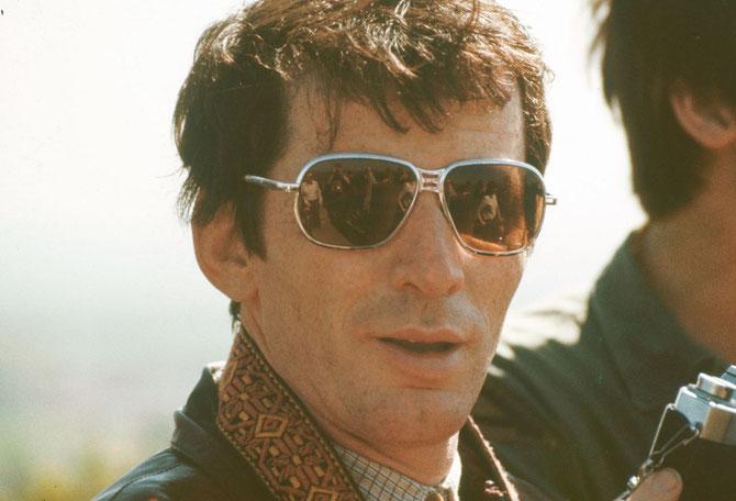 Als große Sonnebrillen modern waren