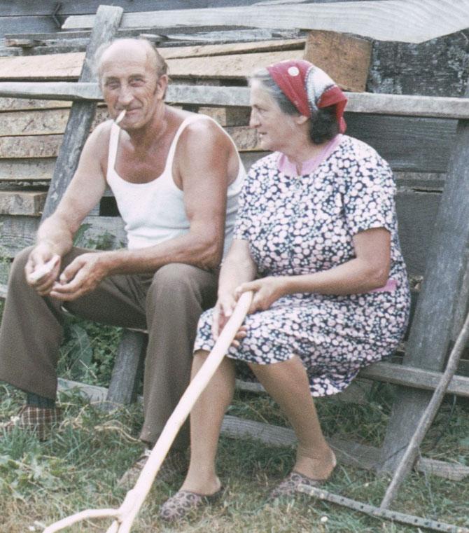 Milosch und Beba, Jassenak, ehem. Jugoslawien in den 70er Jahren