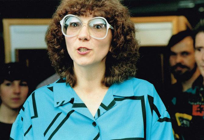 Lena, Moskau, russische Übersetzerin Juli 1992