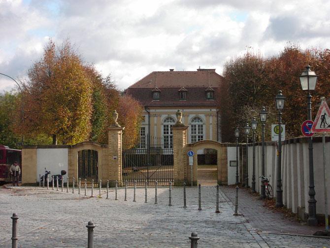 Eingangsbereich Hofgarten