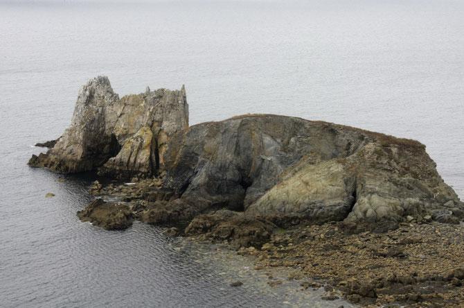 Vom Atlantik geformte Felsinseln, Crozon, Bretagne