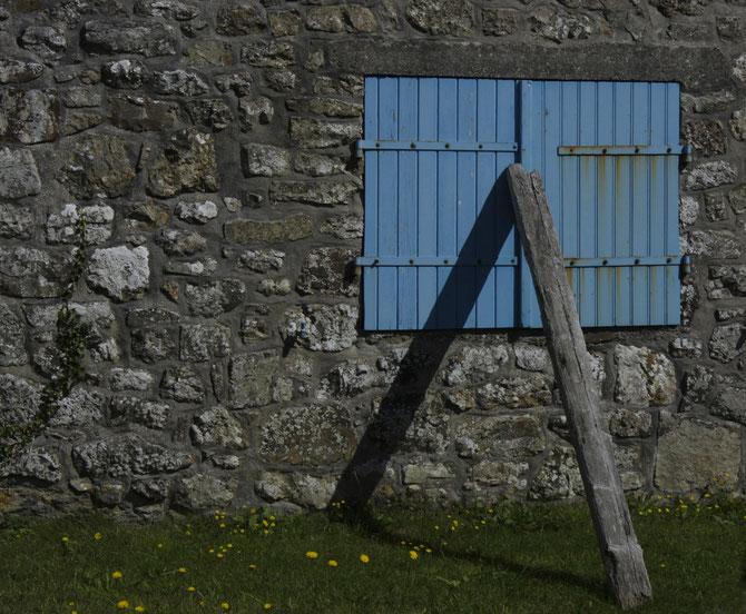 Fensterladenstütze, Crozon, Bretagne, 10.09.2013