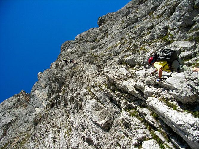 Im Anna-Klettersteig, benannt nach der Geliebten von Erzherzog Johann, 07.09.2012 um 11:48