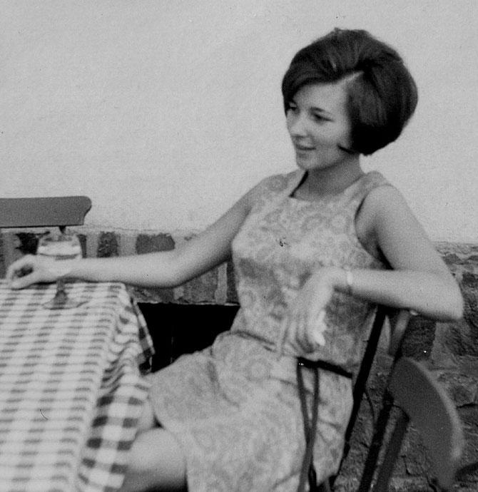 Alwine, Boppart am Rhein, 1962