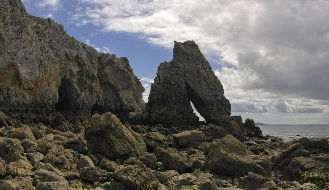 Küstenlandschaft bei Camaret sur Mer, Crozon, Bretagne, 08.09.2013