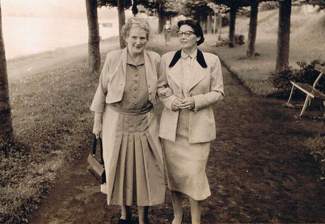 Mathilde und Tochter Ilse